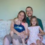 Pastor Tim, Lisa, Lila and Dane