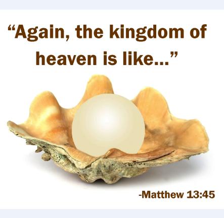 Again the kingdom of heaven is like