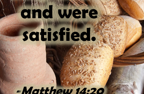 Matthew 14:13-21 Feeding of the 5 Thousand